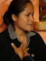 Fundacion Pachamamaのシュア族の女性