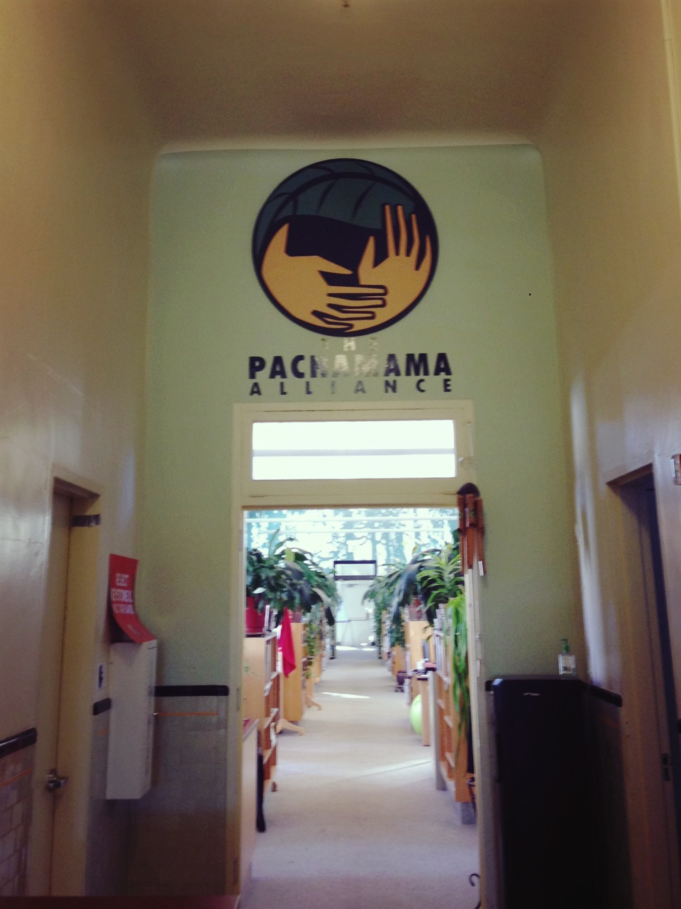 Pachamama Alliance' Office in San Francisco