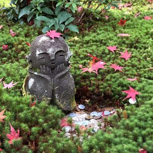 A little Buddha I met in Kyoto
